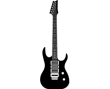 Ibanez style diy guitar kits and 7 string